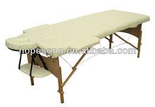 Thai Beauty Salon Wooden Portable Massage Table