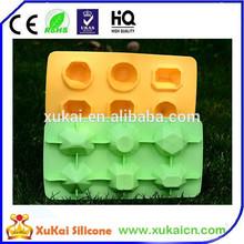 Eco-friendly silicon diamond ice tray