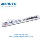 custom emblems ABS silver chrome allison duramax transmission car badges
