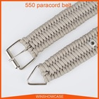 550 Paracord Adjustable Project Survival Army Braided Tactital 511 tactical belt
