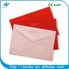 recyclable colorful paper gold envelope seals best price hot selling