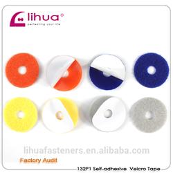 100% nylon sticky color velcro dots
