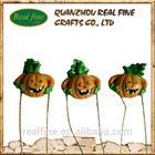 Newest custom design resin pumpkin pendant halloween decoration