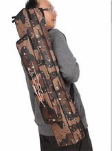 More thick wear-resisting Gray Fishing Rod Tackle Bag Brand Outdoor Bag 2layer 80cm Fishing Bag