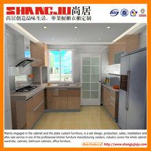 Fashionable Design Contemporary painting kitchen cabinet mini kitchen