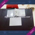 Transparent hologram overlay for ID card