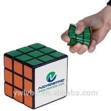 stress toy supplier PU foam Magic Cube stress ball