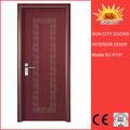 yüksek kaliteli beyaz pvc kapı boyutu yatak odası için düşük fiyat