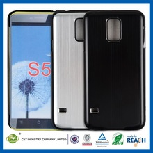 Crystal Cell Phone 0.7mm ultrathin aluminum metal bumper for samsung galaxy s5