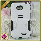 new listing white case for LG L70 belt flip case