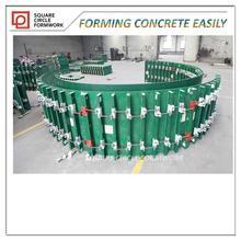 plastic shuttering formwork for concrete/ arc-shaped shuttering