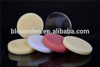 popular dental restoration transparent acrylic medical PMMA disc
