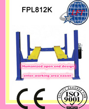 Four Post Open Hydraulic Lift; Car lift with CE certificate