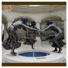 bronze figure for garden decoration sculptures