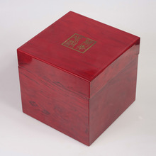 Chinese antique raw wood tea, jewel box, wooden packing box