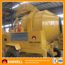 350l truck mounted diesel powered volumetric concrete mixer