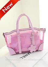 The crystal clear beach bag 2014, grils handbag