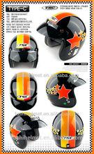 Korean style fashion open face novelty helmet 886