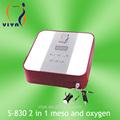 S-830 2 en 1 injection pour éclaircir la peau et la machine de l'oxygène
