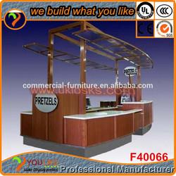 Retail shopping mall coffee kiosk coffe kiosk design for sale