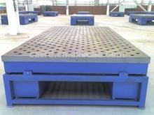 marking cast iron welding table