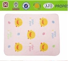 super cute little yellow duck cartoon design baby /throw/bed sheet /manta /coral fleece blanket