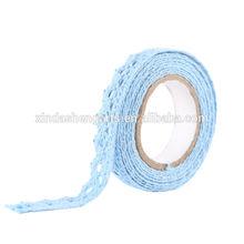 NEOVIVA gift craft tape fabric decoration tape Blue Lace