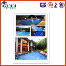 Swimming plastic pool film inground pool covers