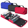 Hanging Travel Toiletry /Cosmetic/Makeup Tote Bag Case - Red, Black NEW