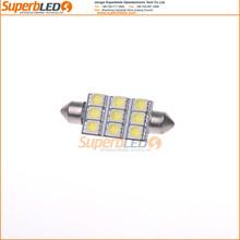 Hotsale festoon 42mm 39mm festoon led light 5050smd Auto led