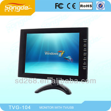10.4 inch tft lcd tv monitor with vga