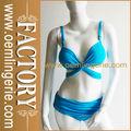 оптовая новый дизайн сексуальные голубой повязкой бикини
