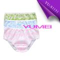 crianças e crianças designer floral underwear