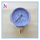 Standard stainless steel liquid filled case digital pressure gauge for industry air water using