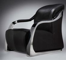 Verner stainless steel high rebound sponge sofa chair