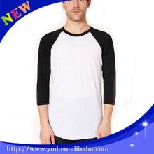 overseas raglan t shirts production cost