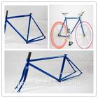 cr-mo frame fixed gear bike frame from bike parts factory, full Chrome Molly frame