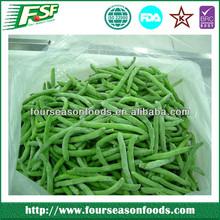 2015China new crop frozen green beans cut