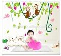 Para mais jovem crianças da parede da sala de decoração de vidro etiqueta adesivos decorativos para móveis