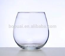 500cc stemless thin wall wine glass