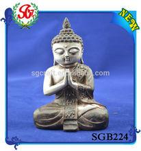 SGB224 Antique Figurine Buddha Shakyamuni Statue