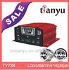 anti-theft mp3 player fm radio usb socket micro sd card motorcycle alarm
