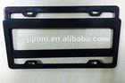 new carbon fiber auto License Plate Frame
