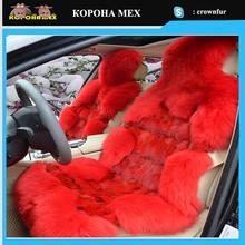 Fox Skin and sheepskin cushion cover 2014 New style