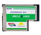 Compact USB 3.0 & eSATA II 2.0 Combo to Express Card Adapter
