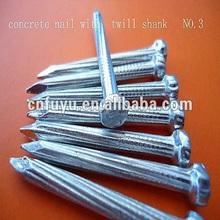 twist concrete nail fastener factory china