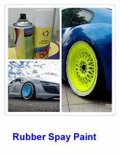 liquid rubber,erasable spray paint ,400ml good quality removable plastic car paint