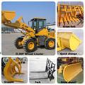 Mineração subterrânea carregadeira/pá carregadeira de pneus de mineração/balde para o carregador da roda