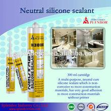 silicone sealant/ splendor clear coat for silicone sealant adhesive