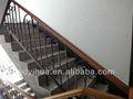 escada de ferro forjado handrailing
